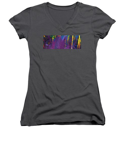 The End Stage Path Series Women's V-Neck T-Shirt