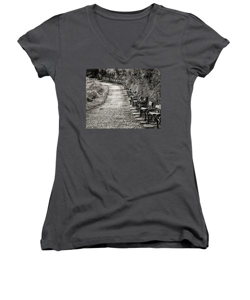 The English Reader Women's V-Neck T-Shirt