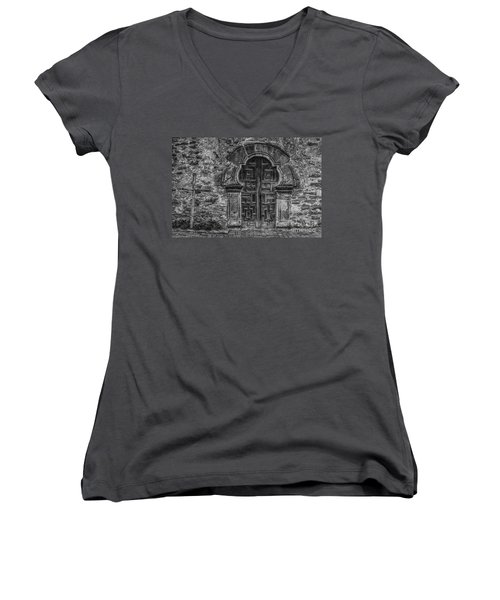 The Mission Door Women's V-Neck