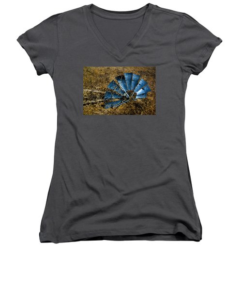 The Fallen - Hdr Women's V-Neck (Athletic Fit)