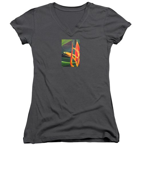 The Final Flame Women's V-Neck (Athletic Fit)