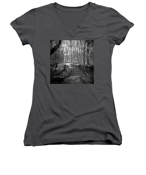 The Forest Women's V-Neck (Athletic Fit)