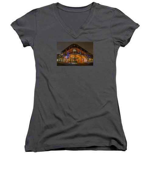 The French Quarter Women's V-Neck (Athletic Fit)