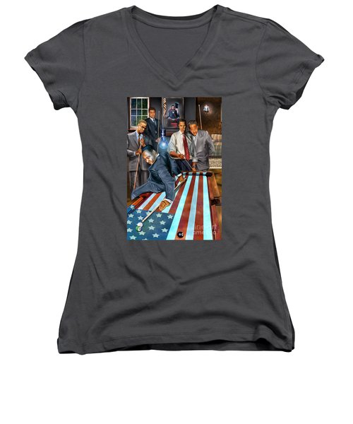 The Game Changers And Table Runners Women's V-Neck