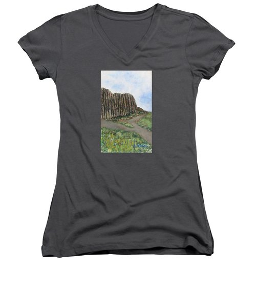 The Giant's Causeway Women's V-Neck