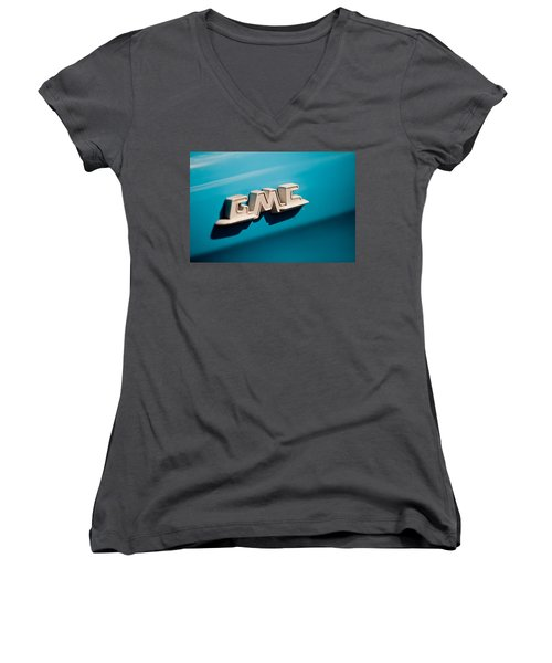 The Gmc Women's V-Neck T-Shirt