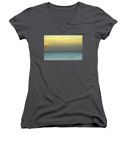 The Gulf Of Mexico Women's V-Neck