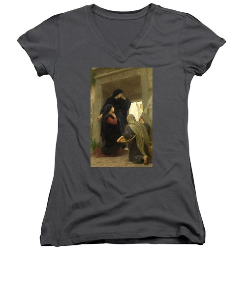 The Holy Women At The Tomb Women's V-Neck