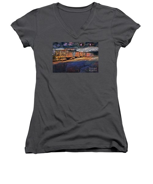 The Last Shipment Women's V-Neck T-Shirt