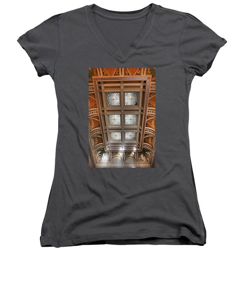 The Library Of Congress Women's V-Neck
