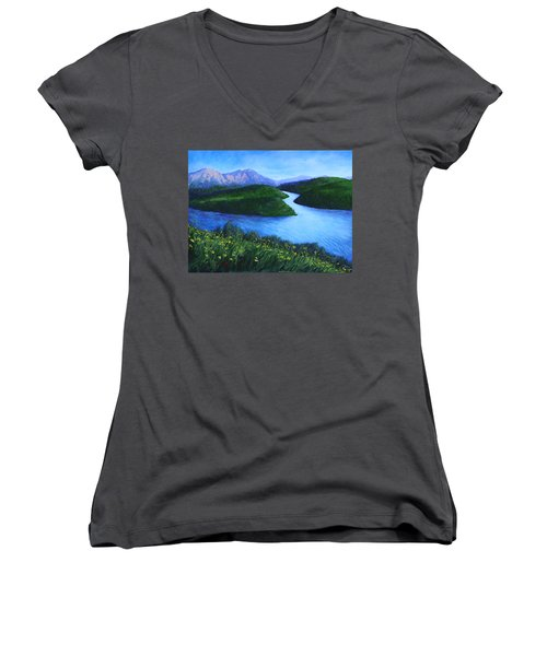The Mountains Beyond Women's V-Neck
