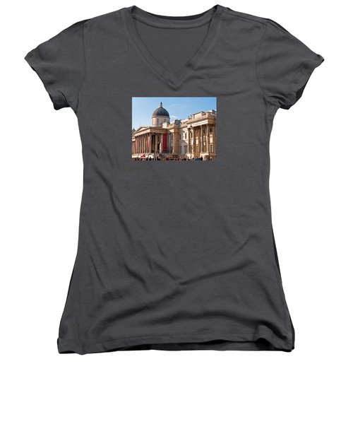 The National Gallery London Women's V-Neck T-Shirt