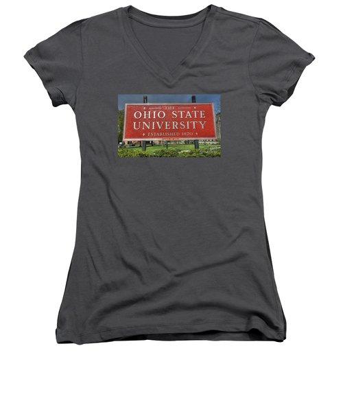 The Ohio State University Women's V-Neck T-Shirt