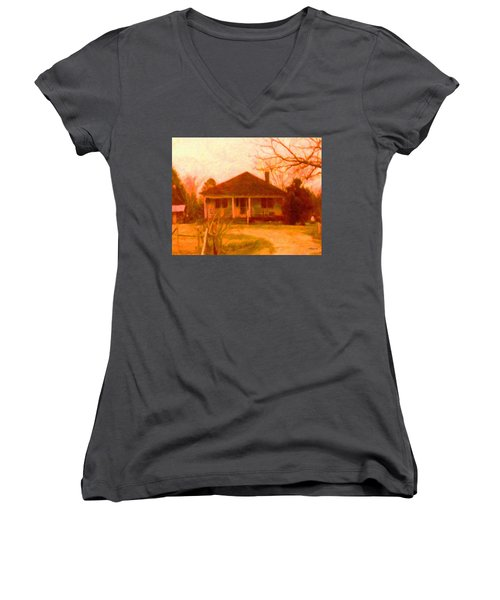 The Old Home Place Women's V-Neck (Athletic Fit)