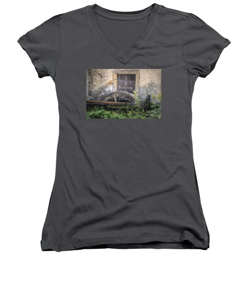 The Old Mill Women's V-Neck (Athletic Fit)