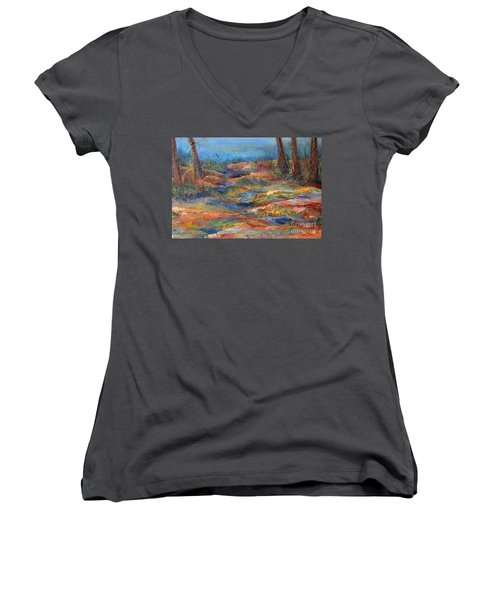 The Path 1 Women's V-Neck (Athletic Fit)
