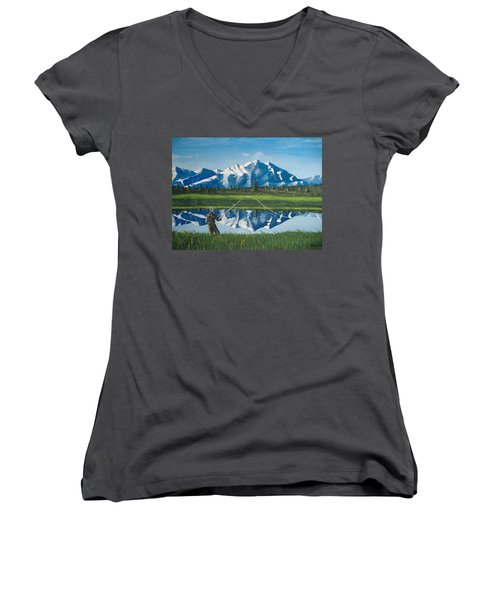 The Perfect Cast Women's V-Neck (Athletic Fit)