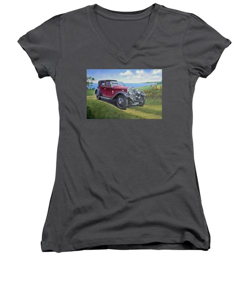 The Picnic Women's V-Neck (Athletic Fit)