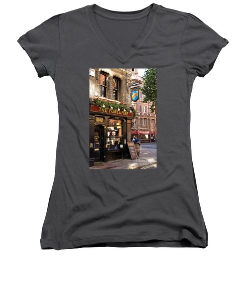 The Porcupine Women's V-Neck (Athletic Fit)