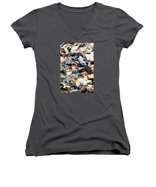 The Raw Bar Women's V-Neck T-Shirt (Junior Cut) by Joan Davis