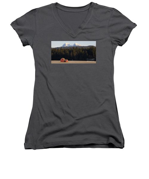 The Red House Women's V-Neck T-Shirt