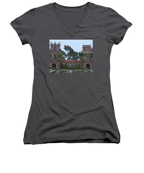 The Reflection Pool Women's V-Neck T-Shirt