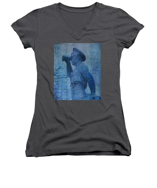The Seaman In Blue Women's V-Neck