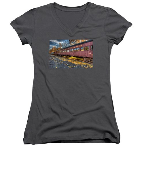 The Siding Women's V-Neck