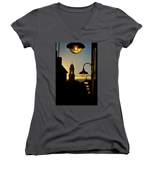 The St. Paul Church Women's V-Neck T-Shirt