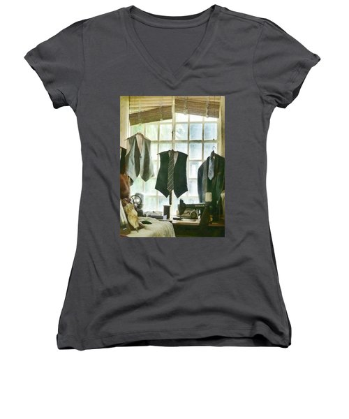 The Tailor Shop Women's V-Neck T-Shirt