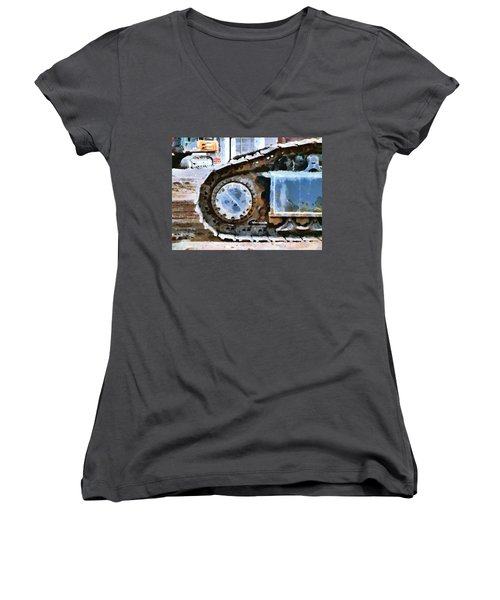 The Tears Of My Tracks Women's V-Neck T-Shirt