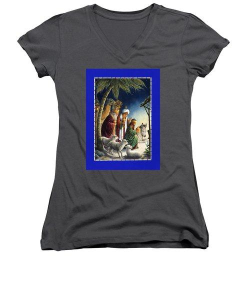 The Three Kings Women's V-Neck