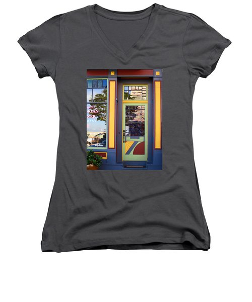 The Victorian Diner Women's V-Neck (Athletic Fit)