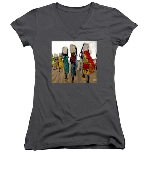 The Water Workers Women's V-Neck (Athletic Fit)