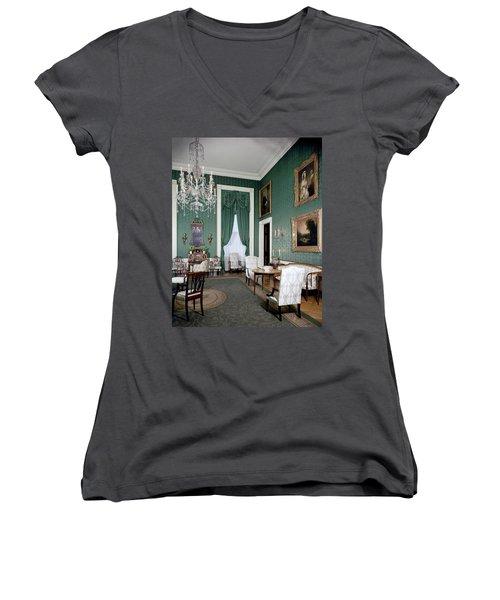 The White House Green Room Women's V-Neck