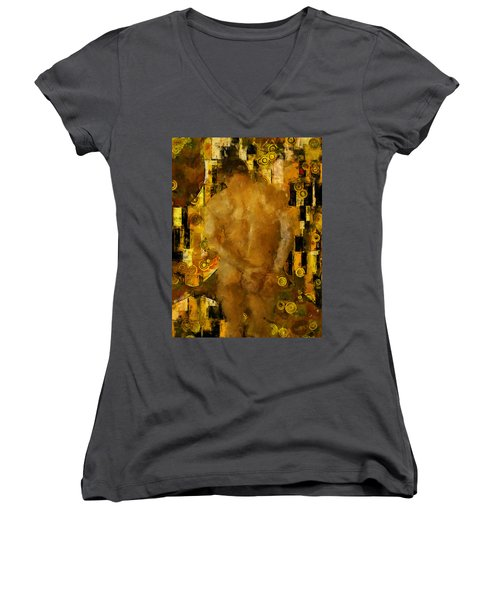 Thinking About You Women's V-Neck