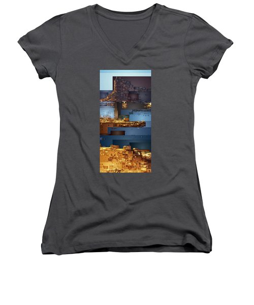 This Is Lake Powell Women's V-Neck (Athletic Fit)