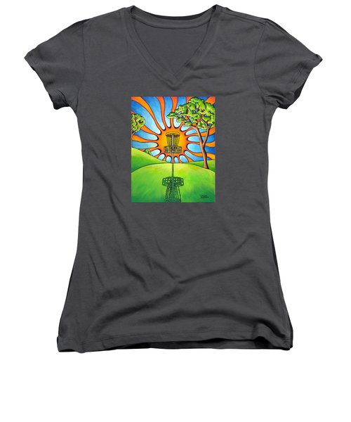 Throw Into The Light Women's V-Neck (Athletic Fit)