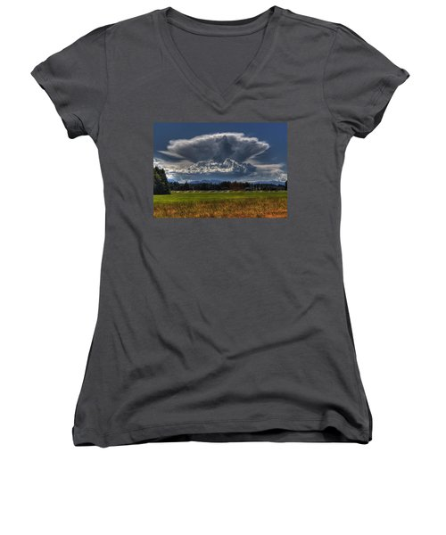 Thunder Storm Women's V-Neck