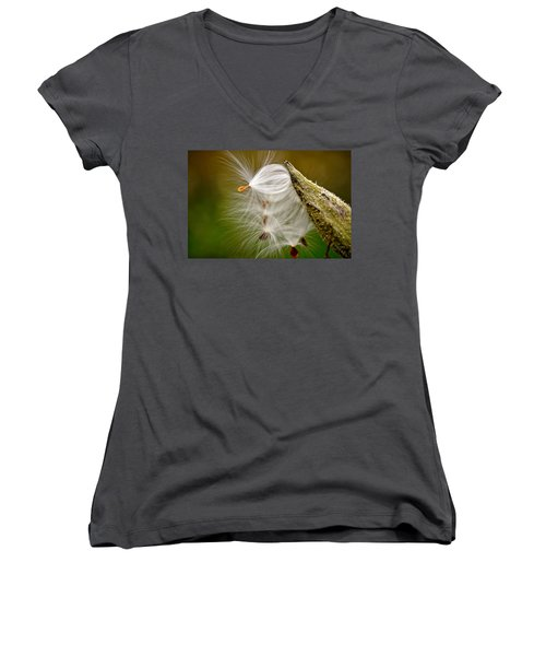 Time For Me To Fly Women's V-Neck (Athletic Fit)