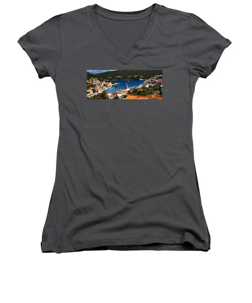 Tiny Inlet Women's V-Neck T-Shirt