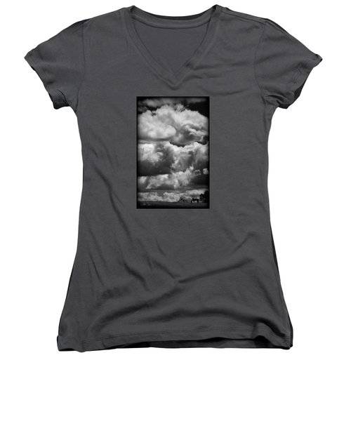 Top Of The World Women's V-Neck (Athletic Fit)