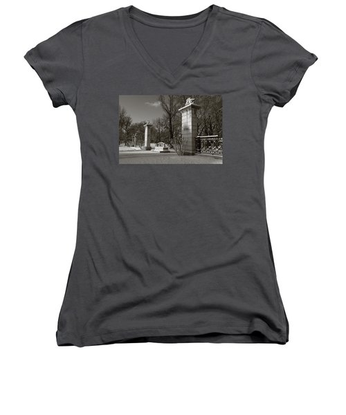 Tower Grove East Gate Women's V-Neck (Athletic Fit)