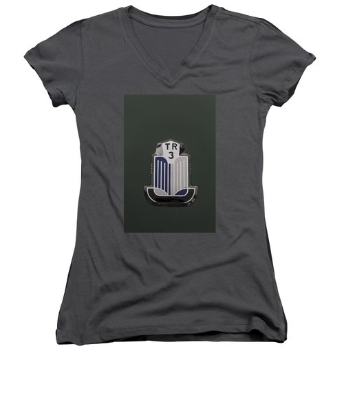 Tr3 Hood Ornament 2 Women's V-Neck