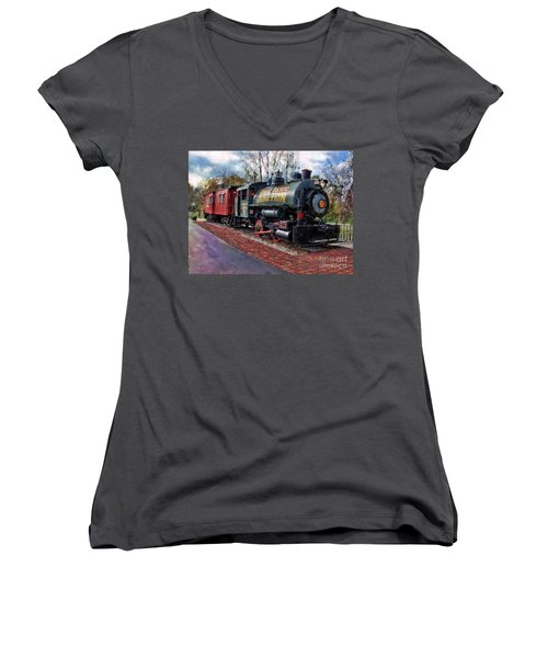 Train At Olmsted Falls - 1 Women's V-Neck (Athletic Fit)