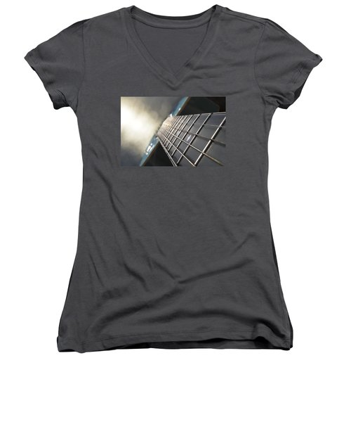 Traveler Of Time And Space Women's V-Neck
