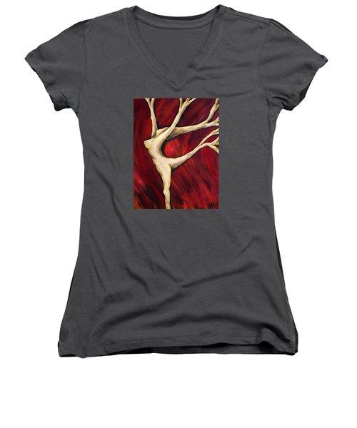 Tree Spirit Women's V-Neck T-Shirt