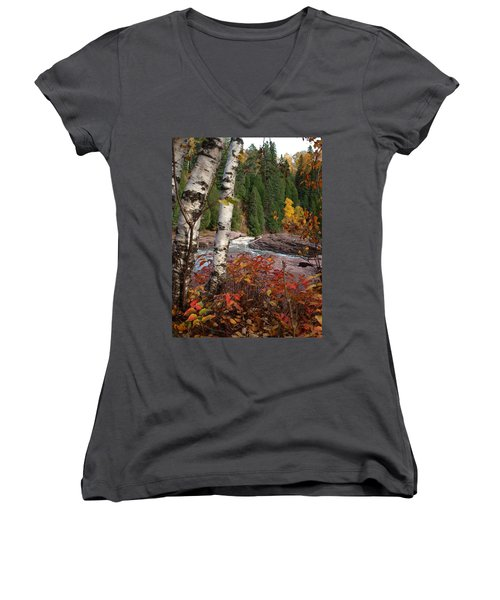 Twin Aspens Women's V-Neck (Athletic Fit)