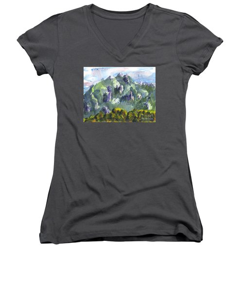 Uintah Highlands 1 Women's V-Neck (Athletic Fit)