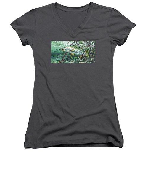 Undercover In0022 Women's V-Neck T-Shirt